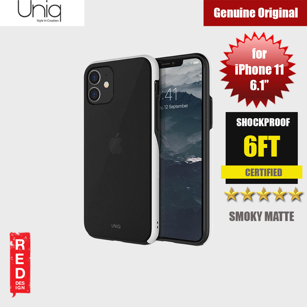 Picture of Uniq Vesto Hue Ultra Drop Protection Premium Hybrid Matte Surface Lightweight Back Case for Apple iPhone 11 6.1 (White) Apple iPhone 11 6.1- Apple iPhone 11 6.1 Cases, Apple iPhone 11 6.1 Covers, iPad Cases and a wide selection of Apple iPhone 11 6.1 Accessories in Malaysia, Sabah, Sarawak and Singapore