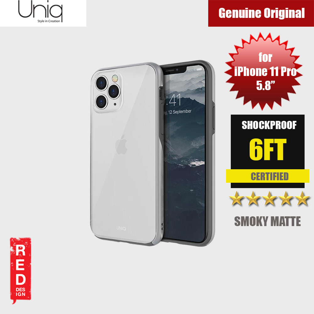 Picture of Uniq Vesto Hue Ultra Drop Protection Premium Hybrid Matte Surface Lightweight Back Case for Apple iPhone 11 Pro 5.8 (Silver) Apple iPhone 11 Pro 5.8- Apple iPhone 11 Pro 5.8 Cases, Apple iPhone 11 Pro 5.8 Covers, iPad Cases and a wide selection of Apple iPhone 11 Pro 5.8 Accessories in Malaysia, Sabah, Sarawak and Singapore