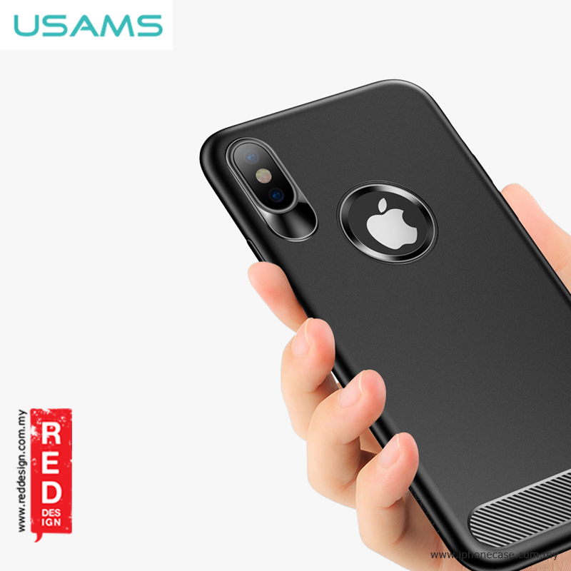 Picture of USAMS Muze Series Protection Case for Apple iPhone X - Black Apple iPhone X- Apple iPhone X Cases, Apple iPhone X Covers, iPad Cases and a wide selection of Apple iPhone X Accessories in Malaysia, Sabah, Sarawak and Singapore