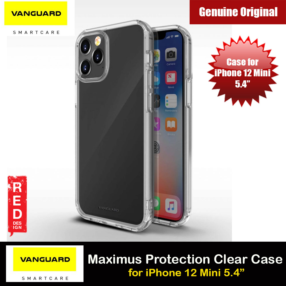 Picture of Viva Madrid Vanguard Maximus Clear Drop Protection Case for iPhone 12 Mini 5.4 (Clear) Apple iPhone 12 mini 5.4- Apple iPhone 12 mini 5.4 Cases, Apple iPhone 12 mini 5.4 Covers, iPad Cases and a wide selection of Apple iPhone 12 mini 5.4 Accessories in Malaysia, Sabah, Sarawak and Singapore