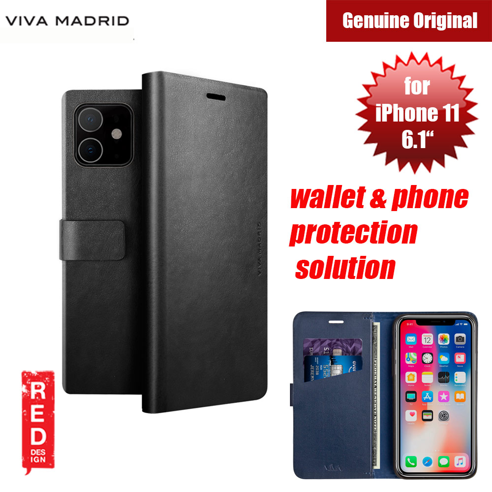 Picture of Viva Madrid FINURA CIERRE wallet and phone protection solution flip cover case for Apple iPhone 11 6.1 (Black) Apple iPhone 11 6.1- Apple iPhone 11 6.1 Cases, Apple iPhone 11 6.1 Covers, iPad Cases and a wide selection of Apple iPhone 11 6.1 Accessories in Malaysia, Sabah, Sarawak and Singapore