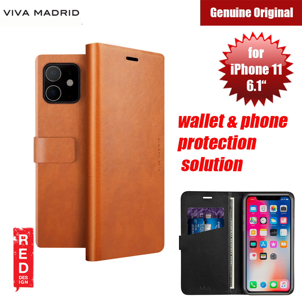 Picture of Viva Madrid FINURA CIERRE wallet and phone protection solution flip cover case for Apple iPhone 11 6.1 (Brown) Apple iPhone 11 6.1- Apple iPhone 11 6.1 Cases, Apple iPhone 11 6.1 Covers, iPad Cases and a wide selection of Apple iPhone 11 6.1 Accessories in Malaysia, Sabah, Sarawak and Singapore