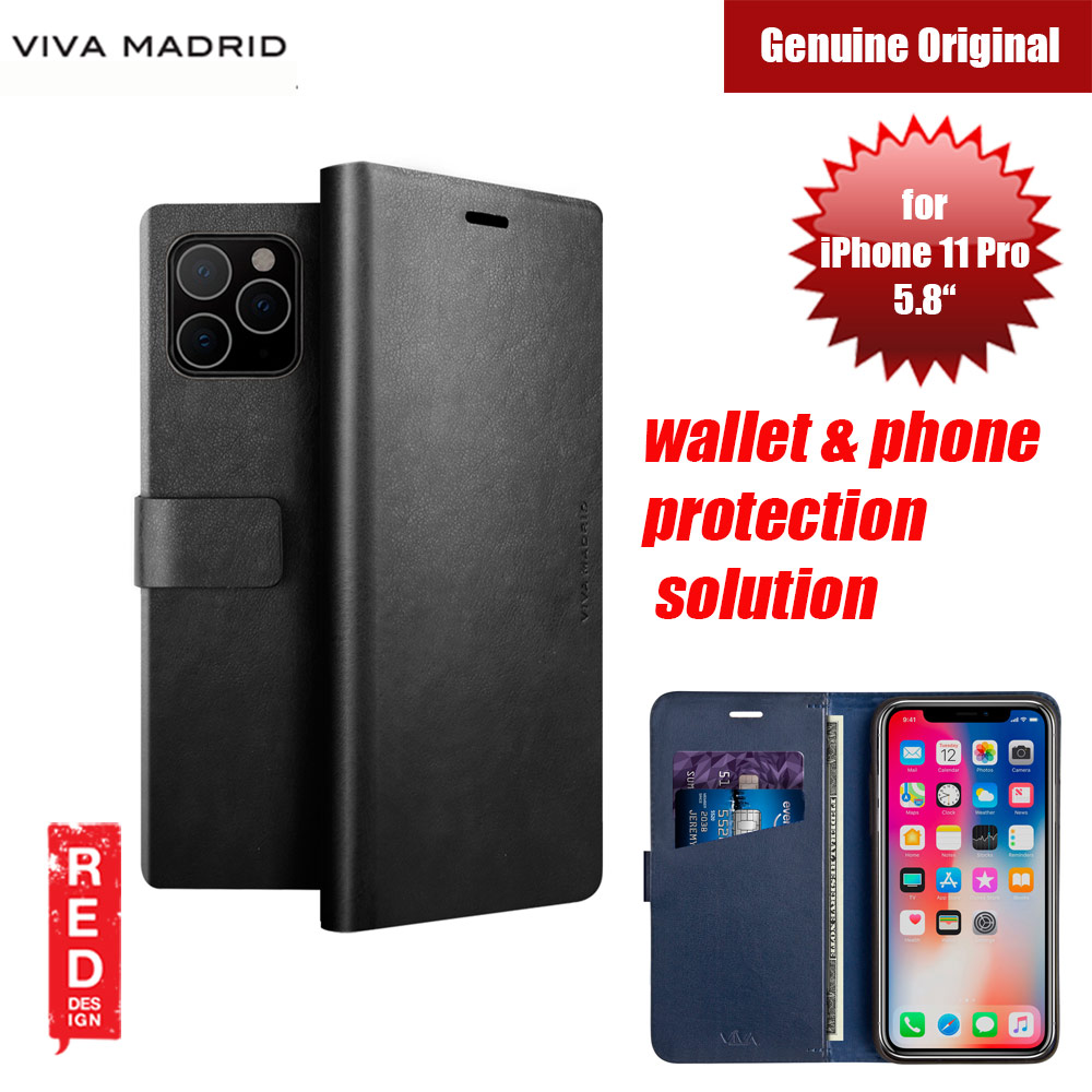 Picture of Viva Madrid FINURA CIERRE wallet and phone protection solution flip cover case for Apple iPhone 11 Pro 5.8 (Black) Apple iPhone 11 Pro 5.8- Apple iPhone 11 Pro 5.8 Cases, Apple iPhone 11 Pro 5.8 Covers, iPad Cases and a wide selection of Apple iPhone 11 Pro 5.8 Accessories in Malaysia, Sabah, Sarawak and Singapore