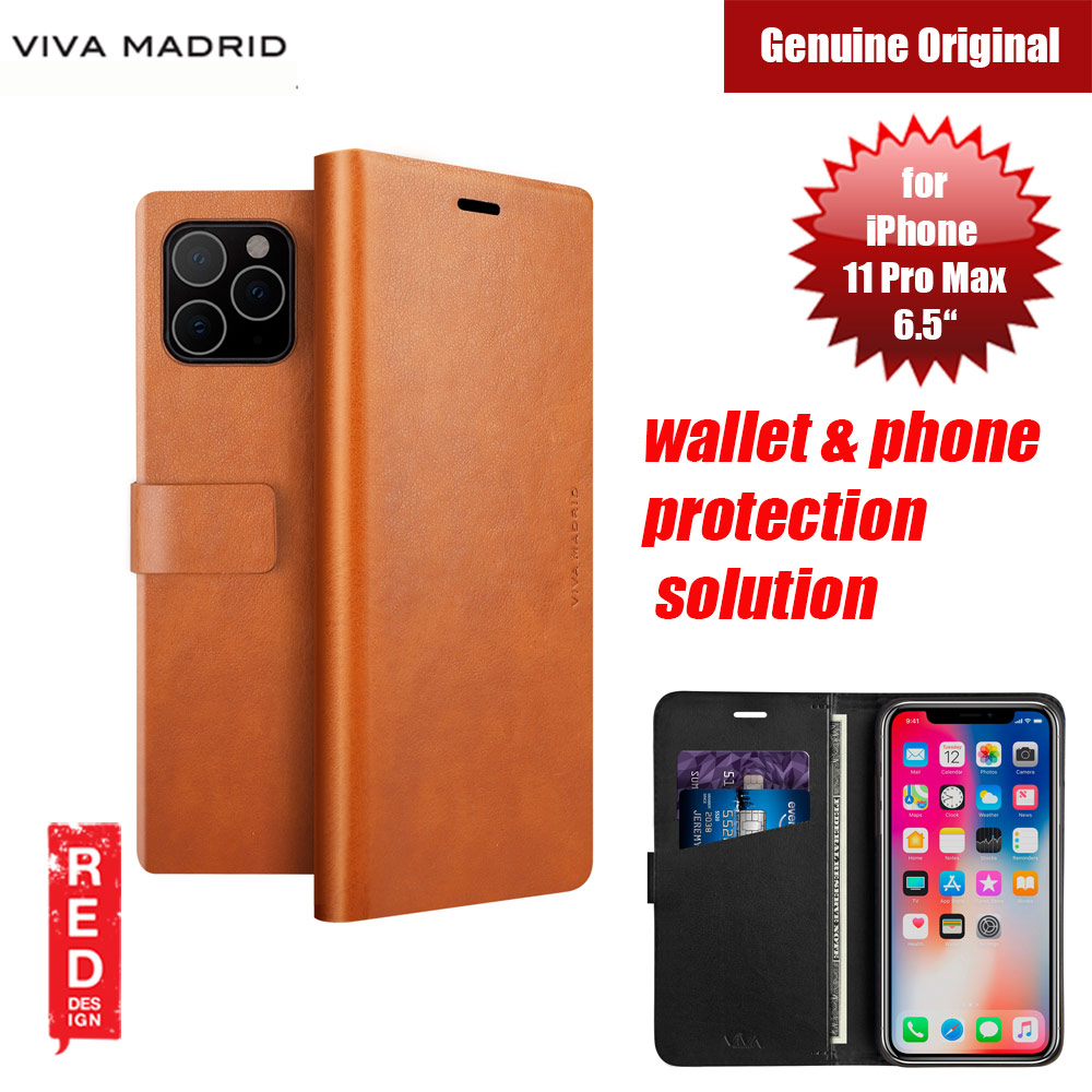 Picture of Viva Madrid FINURA CIERRE wallet and phone protection solution flip cover case for Apple iPhone 11 Pro Max 6.5 (Brown) Apple iPhone 11 Pro Max 6.5- Apple iPhone 11 Pro Max 6.5 Cases, Apple iPhone 11 Pro Max 6.5 Covers, iPad Cases and a wide selection of Apple iPhone 11 Pro Max 6.5 Accessories in Malaysia, Sabah, Sarawak and Singapore