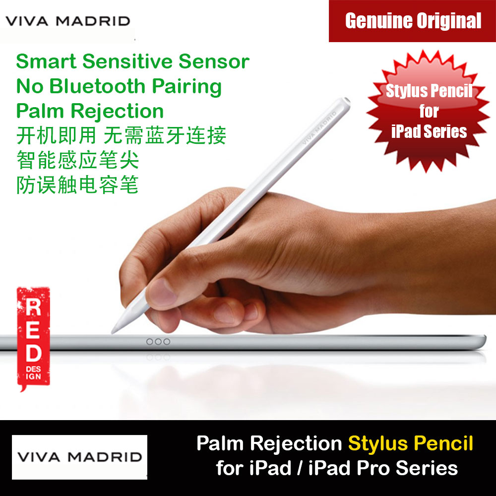 Picture of Viva Madrid Viva Glide Palm Rejection Smart Sensitive Sensor Stylus Pen for iPad Mini  iPad iPad Air iPad Pro 2018 2019 2020 Apple iPad 10.2 7th gen 2019- Apple iPad 10.2 7th gen 2019 Cases, Apple iPad 10.2 7th gen 2019 Covers, iPad Cases and a wide selection of Apple iPad 10.2 7th gen 2019 Accessories in Malaysia, Sabah, Sarawak and Singapore
