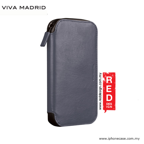 Picture of Samsung Galaxy S7 Edge Case | Viva Madrid Robusto Universal Weather Proof Wallet Case Phone Pocket for Apple iPhone X Galaxy Note 8 or up to 5.5 - Gray
