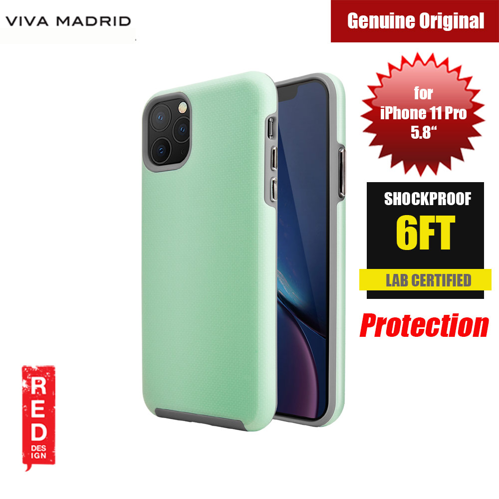 Picture of Viva Madrid VanGuard Shield Modelo Drop Shock TPU Bumper Case for Apple iPhone 11 Pro 5.8 (Mint Green) Apple iPhone 11 Pro 5.8- Apple iPhone 11 Pro 5.8 Cases, Apple iPhone 11 Pro 5.8 Covers, iPad Cases and a wide selection of Apple iPhone 11 Pro 5.8 Accessories in Malaysia, Sabah, Sarawak and Singapore