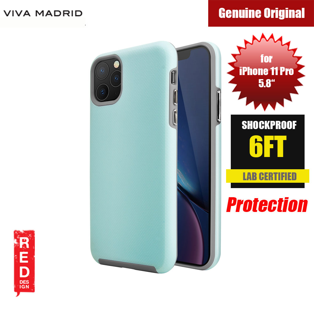 Picture of Viva Madrid VanGuard Shield Modelo Drop Shock TPU Bumper Case for Apple iPhone 11 Pro 5.8 (Splash Blue) Apple iPhone 11 Pro 5.8- Apple iPhone 11 Pro 5.8 Cases, Apple iPhone 11 Pro 5.8 Covers, iPad Cases and a wide selection of Apple iPhone 11 Pro 5.8 Accessories in Malaysia, Sabah, Sarawak and Singapore