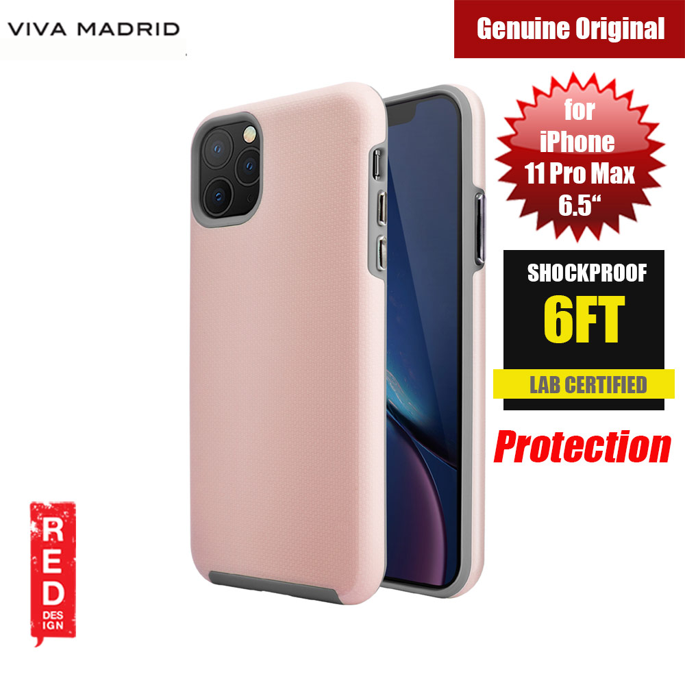 Picture of Viva Madrid VanGuard Shield Modelo Drop Shock TPU Bumper Case for Apple iPhone 11 Pro Max 6.5 (Crush Pink) Apple iPhone 11 Pro Max 6.5- Apple iPhone 11 Pro Max 6.5 Cases, Apple iPhone 11 Pro Max 6.5 Covers, iPad Cases and a wide selection of Apple iPhone 11 Pro Max 6.5 Accessories in Malaysia, Sabah, Sarawak and Singapore