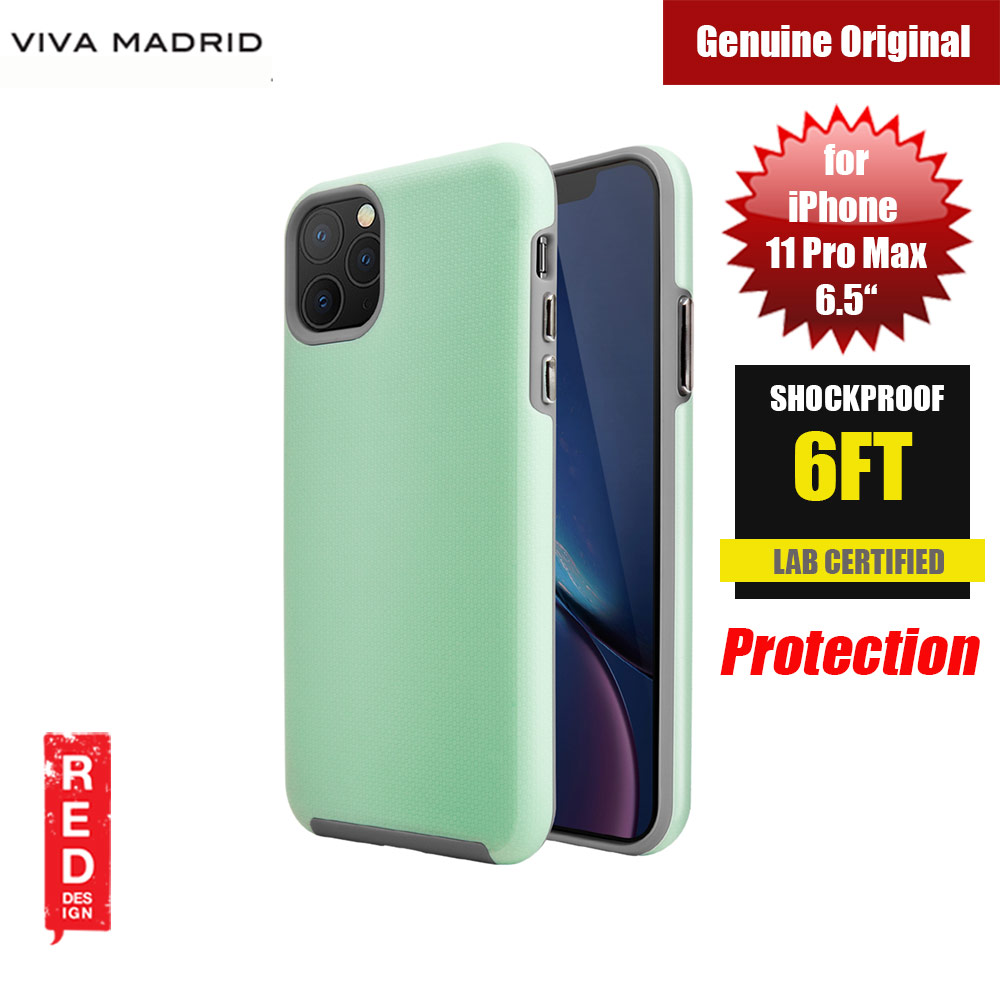Picture of Viva Madrid VanGuard Shield Modelo Drop Shock TPU Bumper Case for Apple iPhone 11 Pro Max 6.5 (Mint Green) Apple iPhone 11 Pro Max 6.5- Apple iPhone 11 Pro Max 6.5 Cases, Apple iPhone 11 Pro Max 6.5 Covers, iPad Cases and a wide selection of Apple iPhone 11 Pro Max 6.5 Accessories in Malaysia, Sabah, Sarawak and Singapore