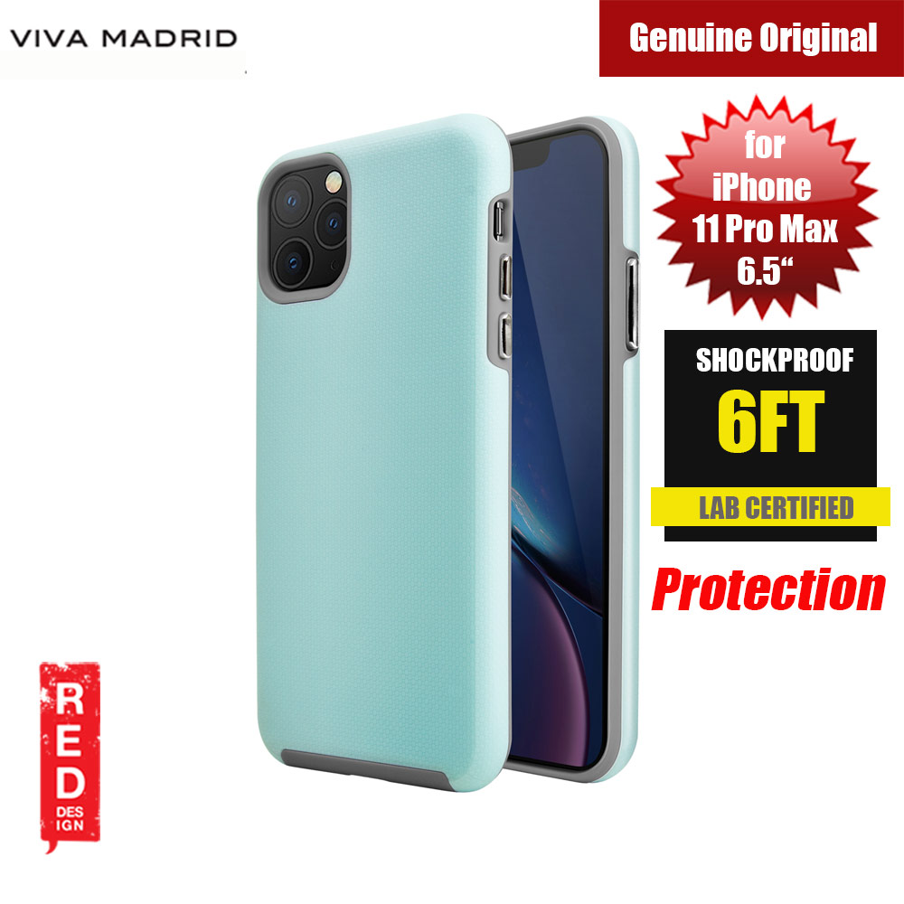 Picture of Viva Madrid VanGuard Shield Modelo Drop Shock TPU Bumper Case for Apple iPhone 11 Pro Max 6.5 (Splash Blue) Apple iPhone 11 Pro Max 6.5- Apple iPhone 11 Pro Max 6.5 Cases, Apple iPhone 11 Pro Max 6.5 Covers, iPad Cases and a wide selection of Apple iPhone 11 Pro Max 6.5 Accessories in Malaysia, Sabah, Sarawak and Singapore