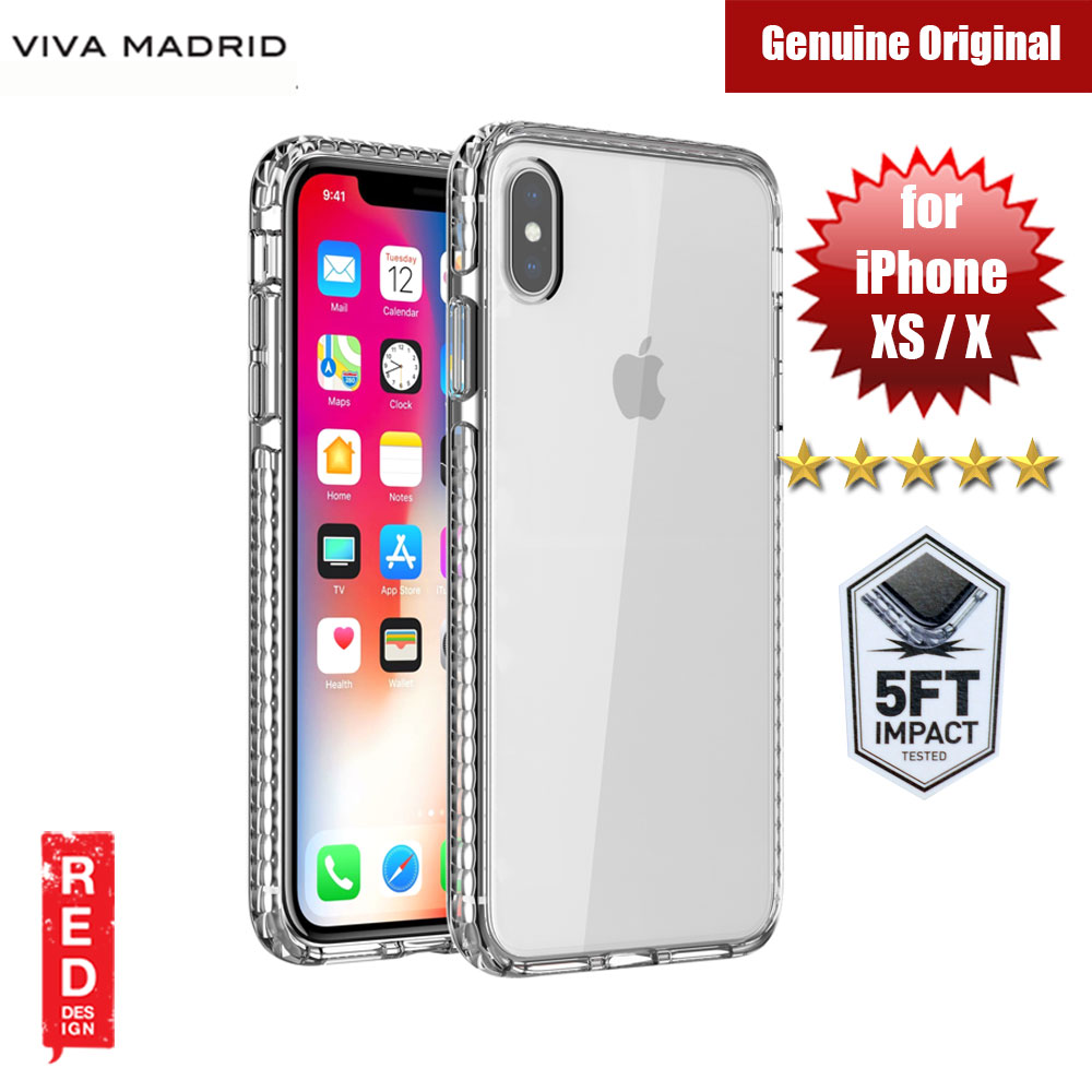 Picture of Viva Madrid Crystal Tough Protection and Camera Protection Case for Apple iPhone XS iPhone X (Clear) Apple iPhone X- Apple iPhone X Cases, Apple iPhone X Covers, iPad Cases and a wide selection of Apple iPhone X Accessories in Malaysia, Sabah, Sarawak and Singapore