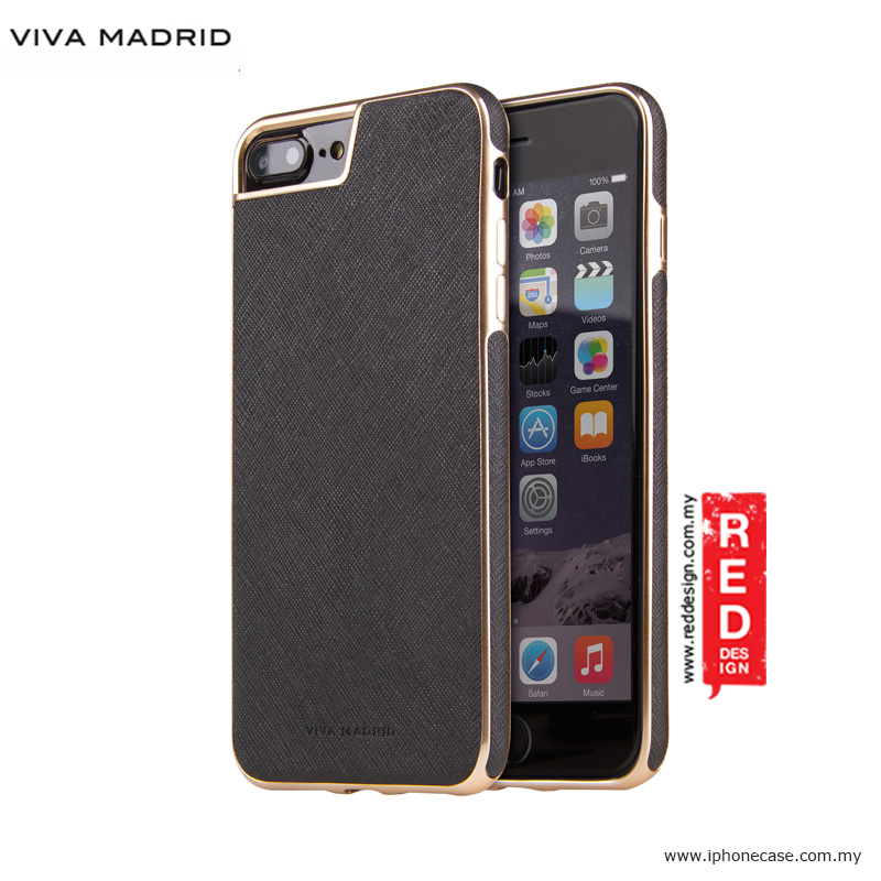Picture of Viva Madrid Eterno Back Case for Apple iPhone 7 Plus iPhone 8 Plus 5.5 - Black Apple iPhone 8 Plus- Apple iPhone 8 Plus Cases, Apple iPhone 8 Plus Covers, iPad Cases and a wide selection of Apple iPhone 8 Plus Accessories in Malaysia, Sabah, Sarawak and Singapore