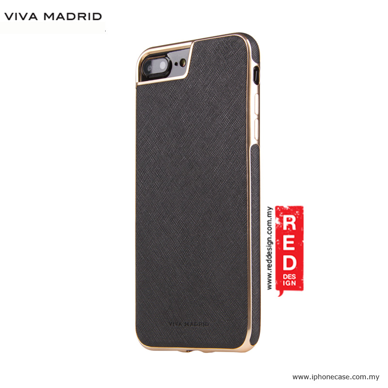 Picture of Apple iPhone 8 Plus Case | Viva Madrid Eterno Back Case for Apple iPhone 7 Plus iPhone 8 Plus 5.5 - Black