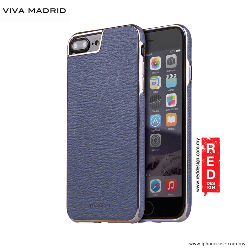 Picture of Viva Madrid Eterno Back Case for Apple iPhone 7 Plus iPhone 8 Plus 5.5 - Blue Apple iPhone 8 Plus- Apple iPhone 8 Plus Cases, Apple iPhone 8 Plus Covers, iPad Cases and a wide selection of Apple iPhone 8 Plus Accessories in Malaysia, Sabah, Sarawak and Singapore