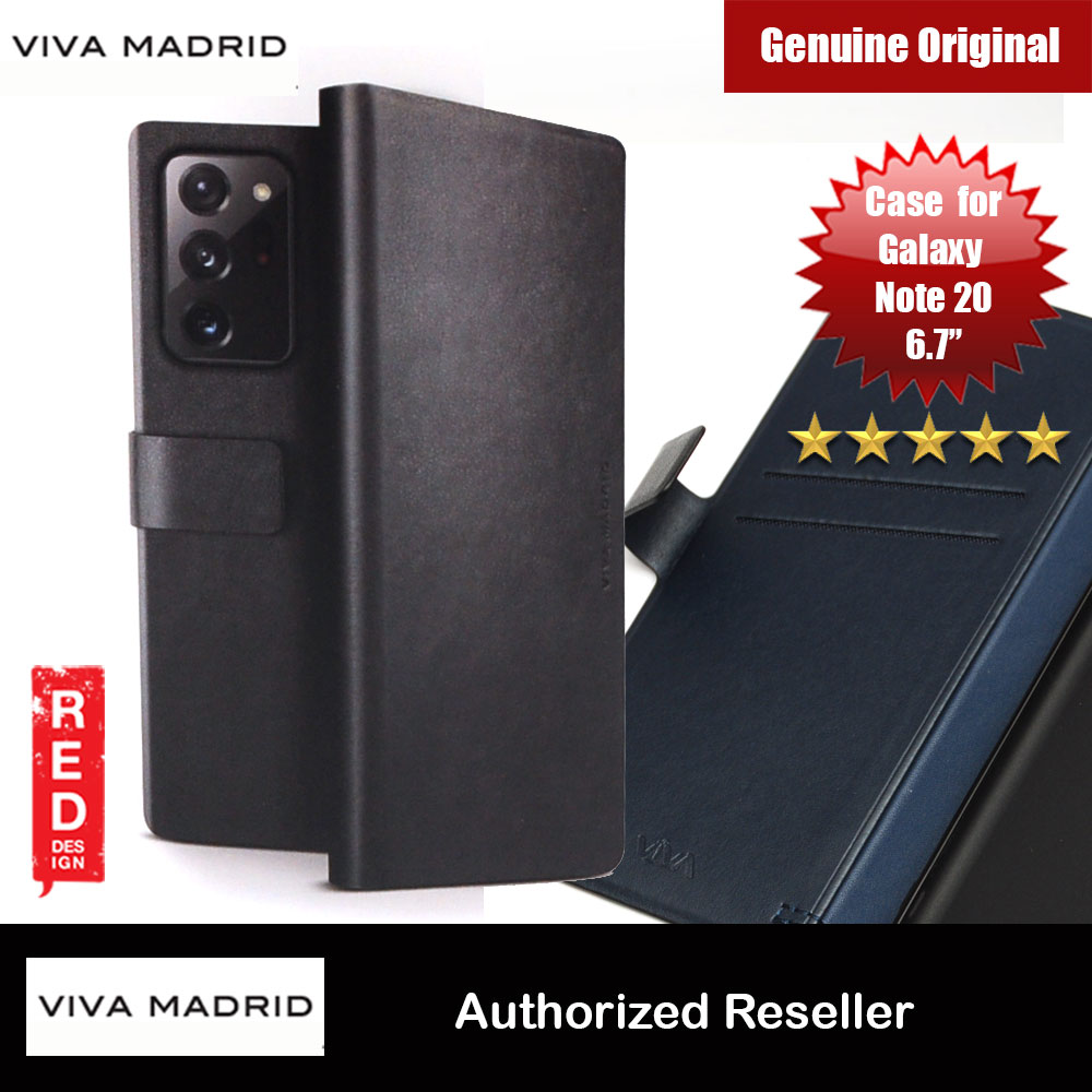 Picture of Viva Madrid FINURA Wallet Card Series Flip Cover Case for Samsung Galaxy Note 20 6.7 (Black) Samsung Galaxy Note 20- Samsung Galaxy Note 20 Cases, Samsung Galaxy Note 20 Covers, iPad Cases and a wide selection of Samsung Galaxy Note 20 Accessories in Malaysia, Sabah, Sarawak and Singapore