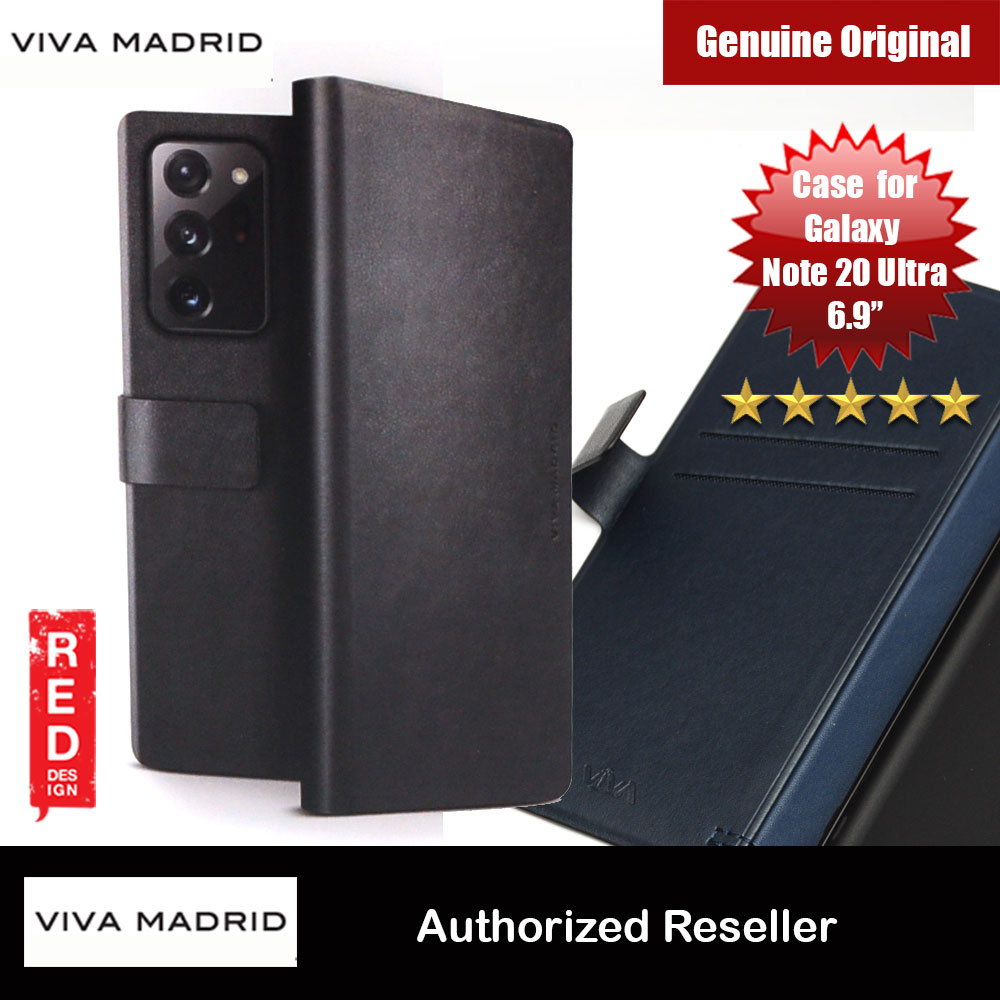 Picture of Viva Madrid FINURA Wallet Card Series Flip Cover Case for Samsung Galaxy Note 20 Ultra 6.9 (Black) Samsung Galaxy Note 20 Ultra- Samsung Galaxy Note 20 Ultra Cases, Samsung Galaxy Note 20 Ultra Covers, iPad Cases and a wide selection of Samsung Galaxy Note 20 Ultra Accessories in Malaysia, Sabah, Sarawak and Singapore