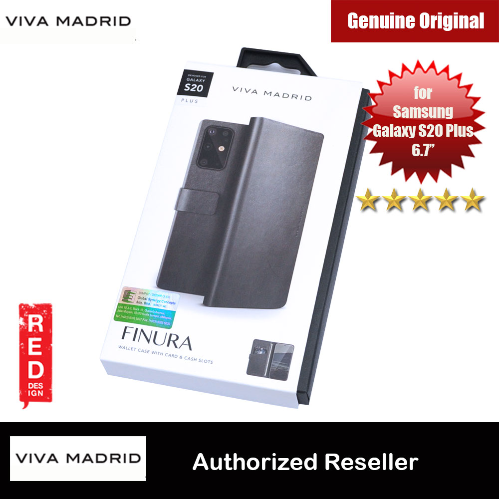 Picture of Viva Madrid FINURA Wallet Series Flip Case for Samsung Galaxy S20 Plus 6.7 (Black) Samsung Galaxy S20 Plus 6.7- Samsung Galaxy S20 Plus 6.7 Cases, Samsung Galaxy S20 Plus 6.7 Covers, iPad Cases and a wide selection of Samsung Galaxy S20 Plus 6.7 Accessories in Malaysia, Sabah, Sarawak and Singapore
