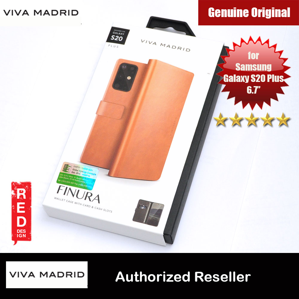 Picture of Viva Madrid FINURA Wallet Series Flip Case for Samsung Galaxy S20 Plus 6.7 (Brown) Samsung Galaxy S20 Plus 6.7- Samsung Galaxy S20 Plus 6.7 Cases, Samsung Galaxy S20 Plus 6.7 Covers, iPad Cases and a wide selection of Samsung Galaxy S20 Plus 6.7 Accessories in Malaysia, Sabah, Sarawak and Singapore