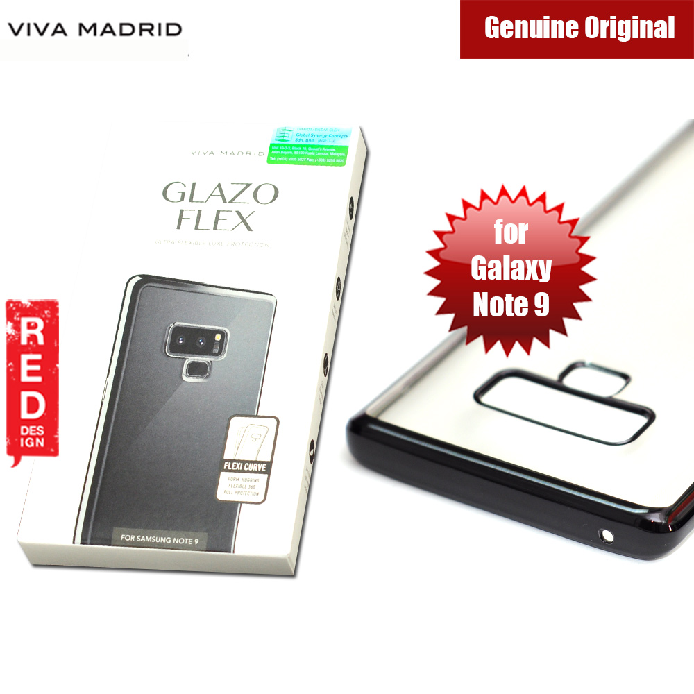 Picture of Viva Madrid Glazo Flex Soft Case for Samsung Galaxy Note 9 (Black) Samsung Galaxy Note 9- Samsung Galaxy Note 9 Cases, Samsung Galaxy Note 9 Covers, iPad Cases and a wide selection of Samsung Galaxy Note 9 Accessories in Malaysia, Sabah, Sarawak and Singapore