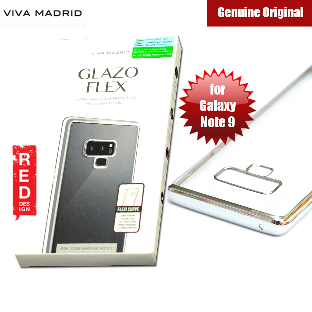 Picture of Viva Madrid Glazo Flex Soft Case for Samsung Galaxy Note 9 (Silver) Samsung Galaxy Note 9- Samsung Galaxy Note 9 Cases, Samsung Galaxy Note 9 Covers, iPad Cases and a wide selection of Samsung Galaxy Note 9 Accessories in Malaysia, Sabah, Sarawak and Singapore