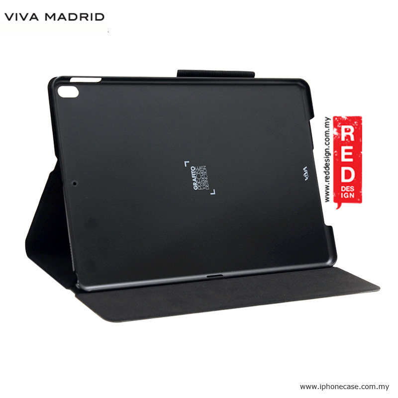 Picture of Apple iPad Pro 10.5 2017 Case | Viva Madrid Grafito Flip Cover Stand Case for Apple iPad Pro 10.5 2017 - Black