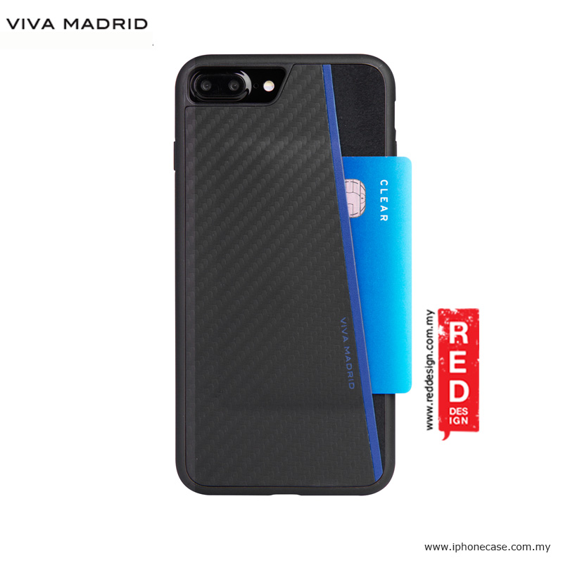 Picture of Viva Madrid Card Case Grafito Racha Series for iPhone 7 Plus iPhone 8 Plus 5.5 - Blue Apple iPhone 8 Plus- Apple iPhone 8 Plus Cases, Apple iPhone 8 Plus Covers, iPad Cases and a wide selection of Apple iPhone 8 Plus Accessories in Malaysia, Sabah, Sarawak and Singapore