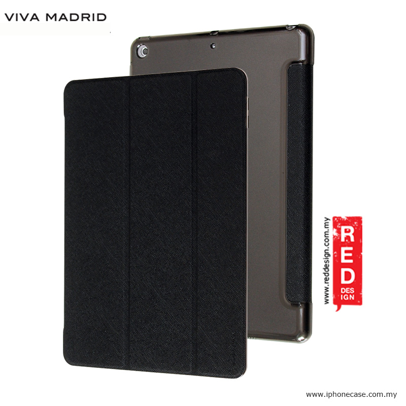 Picture of Viva Madrid Sabio Hexe Collection Flip Cover Stand Case for Apple iPad 9.7 2017 - Black Apple iPad 9.7 2017- Apple iPad 9.7 2017 Cases, Apple iPad 9.7 2017 Covers, iPad Cases and a wide selection of Apple iPad 9.7 2017 Accessories in Malaysia, Sabah, Sarawak and Singapore