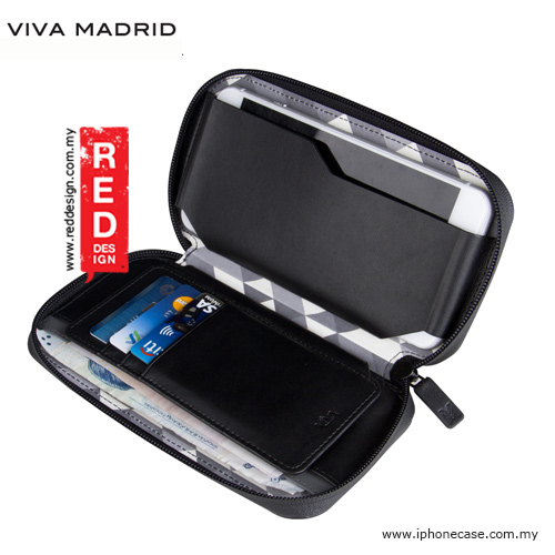 "Picture of Samsung Galaxy S7 Edge Case | Viva Madrid Robusto Universal Weather Proof Wallet Case Phone Pocket for Apple iPhone X Galaxy Note 8 or up to 5.5"" - Black"