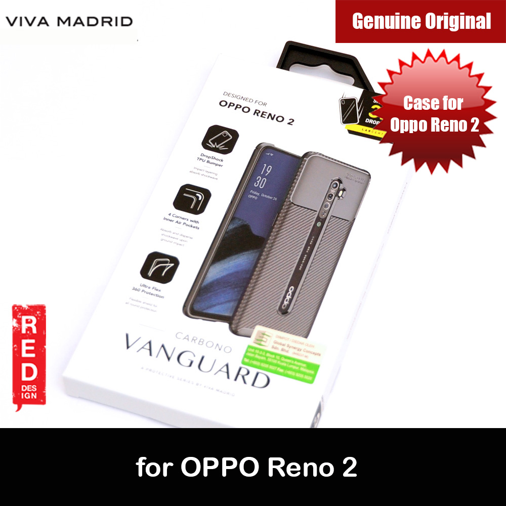 Picture of Viva Madrid Vanguard Drop ShockProof Protection Case for Oppo Reno 2 (Black) OPPO Reno 2- OPPO Reno 2 Cases, OPPO Reno 2 Covers, iPad Cases and a wide selection of OPPO Reno 2 Accessories in Malaysia, Sabah, Sarawak and Singapore