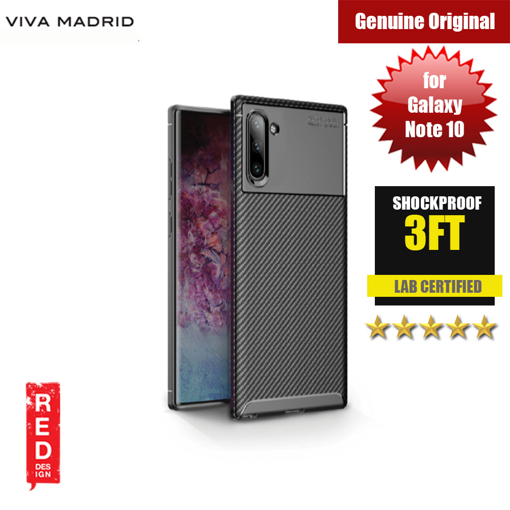Picture of Viva Madrid Vanguard Drop ShockProof Protection Case for Samsung Galaxy Note 10 (Black) Samsung Galaxy Note 10- Samsung Galaxy Note 10 Cases, Samsung Galaxy Note 10 Covers, iPad Cases and a wide selection of Samsung Galaxy Note 10 Accessories in Malaysia, Sabah, Sarawak and Singapore