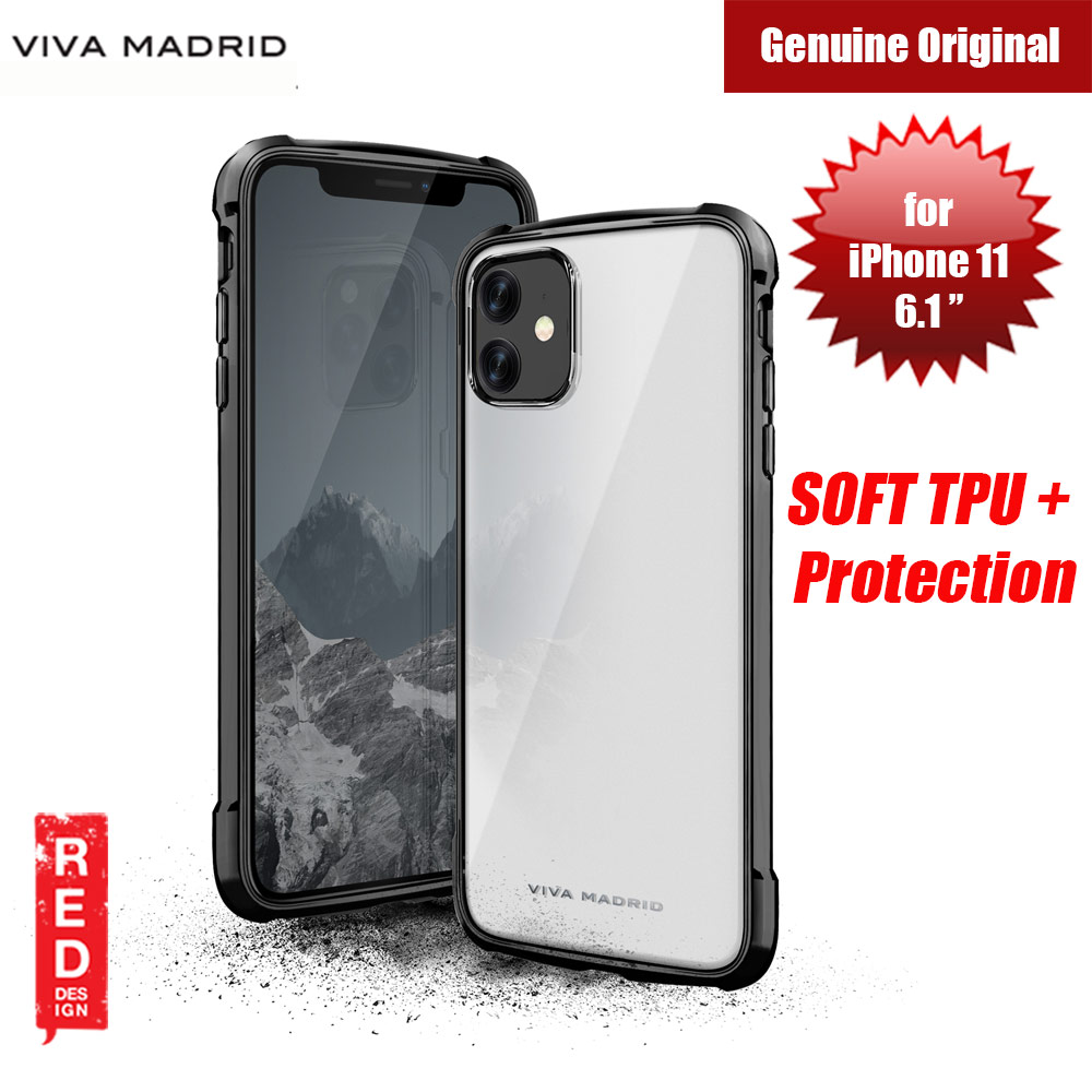 Picture of Viva Madrid VanGuard Glazo Drop Protection Case for Apple iPhone 11 6.1 (Jet Black) Apple iPhone 11 6.1- Apple iPhone 11 6.1 Cases, Apple iPhone 11 6.1 Covers, iPad Cases and a wide selection of Apple iPhone 11 6.1 Accessories in Malaysia, Sabah, Sarawak and Singapore