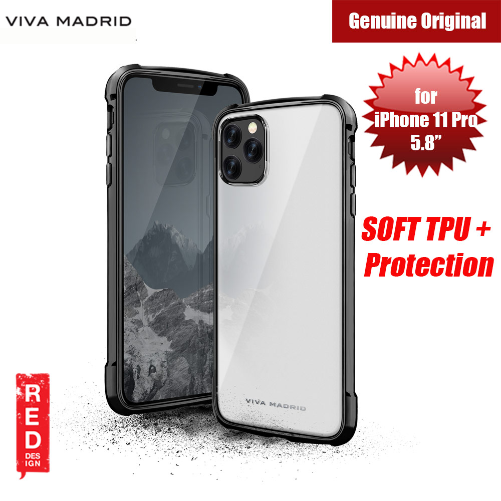 Picture of Viva Madrid VanGuard Glazo Drop Protection Case for Apple iPhone 11 Pro 5.8 (Jet Black) Apple iPhone 11 Pro 5.8- Apple iPhone 11 Pro 5.8 Cases, Apple iPhone 11 Pro 5.8 Covers, iPad Cases and a wide selection of Apple iPhone 11 Pro 5.8 Accessories in Malaysia, Sabah, Sarawak and Singapore