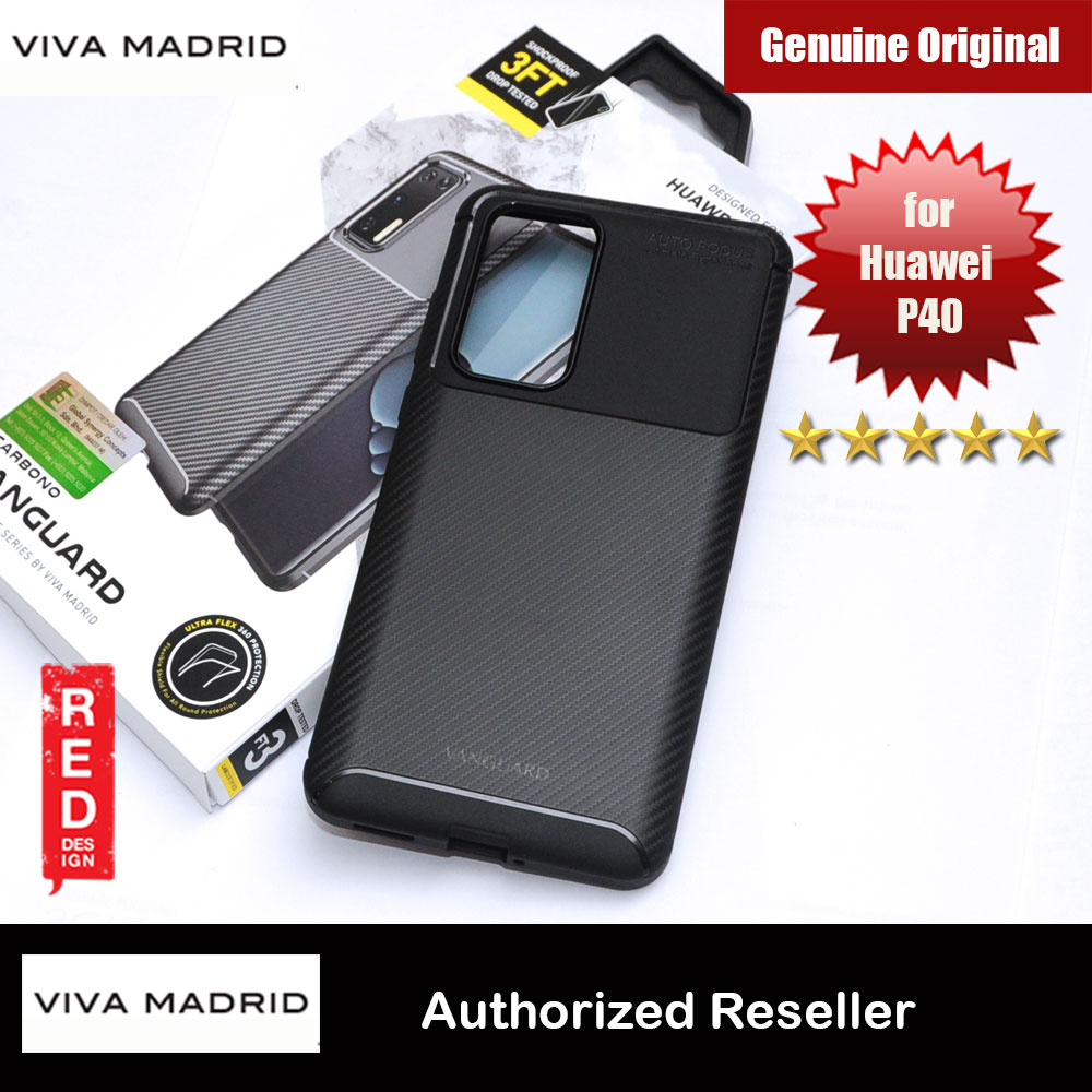 Picture of Viva Madrid Vanguard Drop ShockProof Protection Case for Huawei P40 (Black) Huawei P40- Huawei P40 Cases, Huawei P40 Covers, iPad Cases and a wide selection of Huawei P40 Accessories in Malaysia, Sabah, Sarawak and Singapore