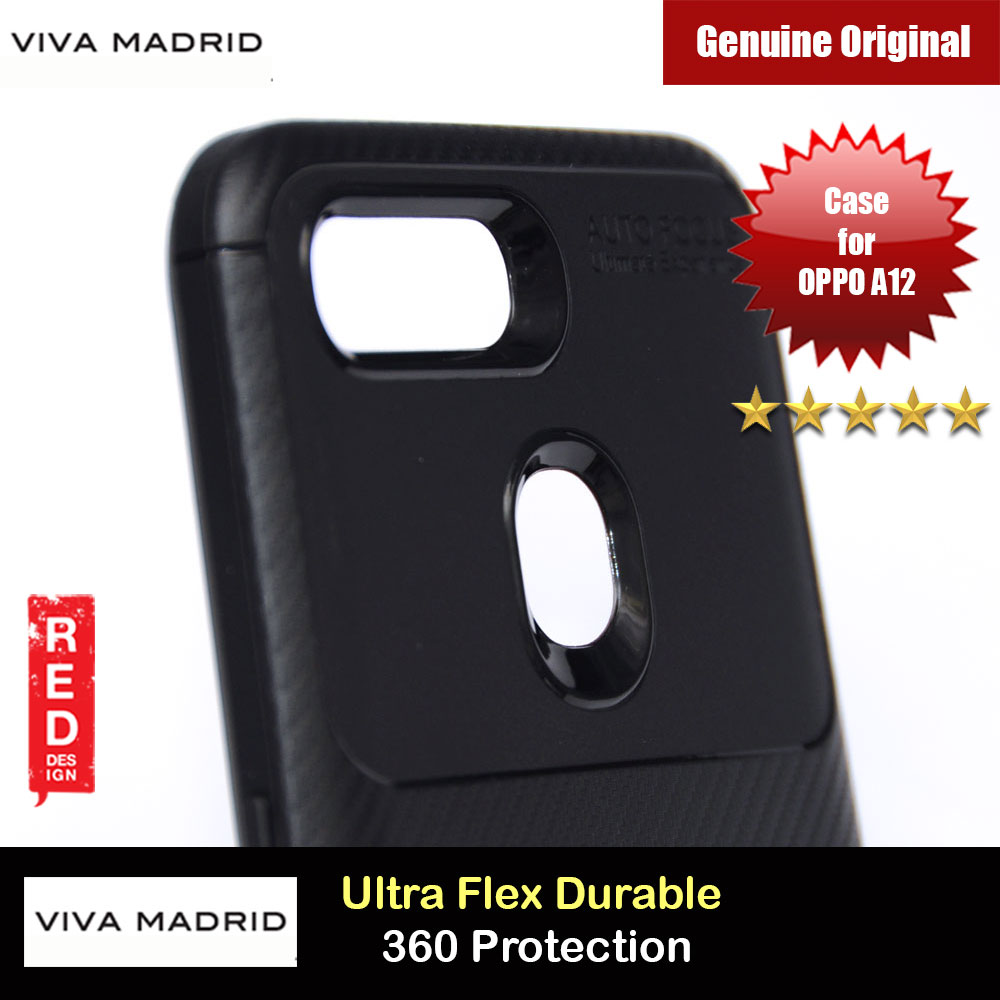 Picture of Viva Madrid Vanguard Drop ShockProof High Quality Soft Protection Case for OPPO A12 (Black) OPPO A12- OPPO A12 Cases, OPPO A12 Covers, iPad Cases and a wide selection of OPPO A12 Accessories in Malaysia, Sabah, Sarawak and Singapore