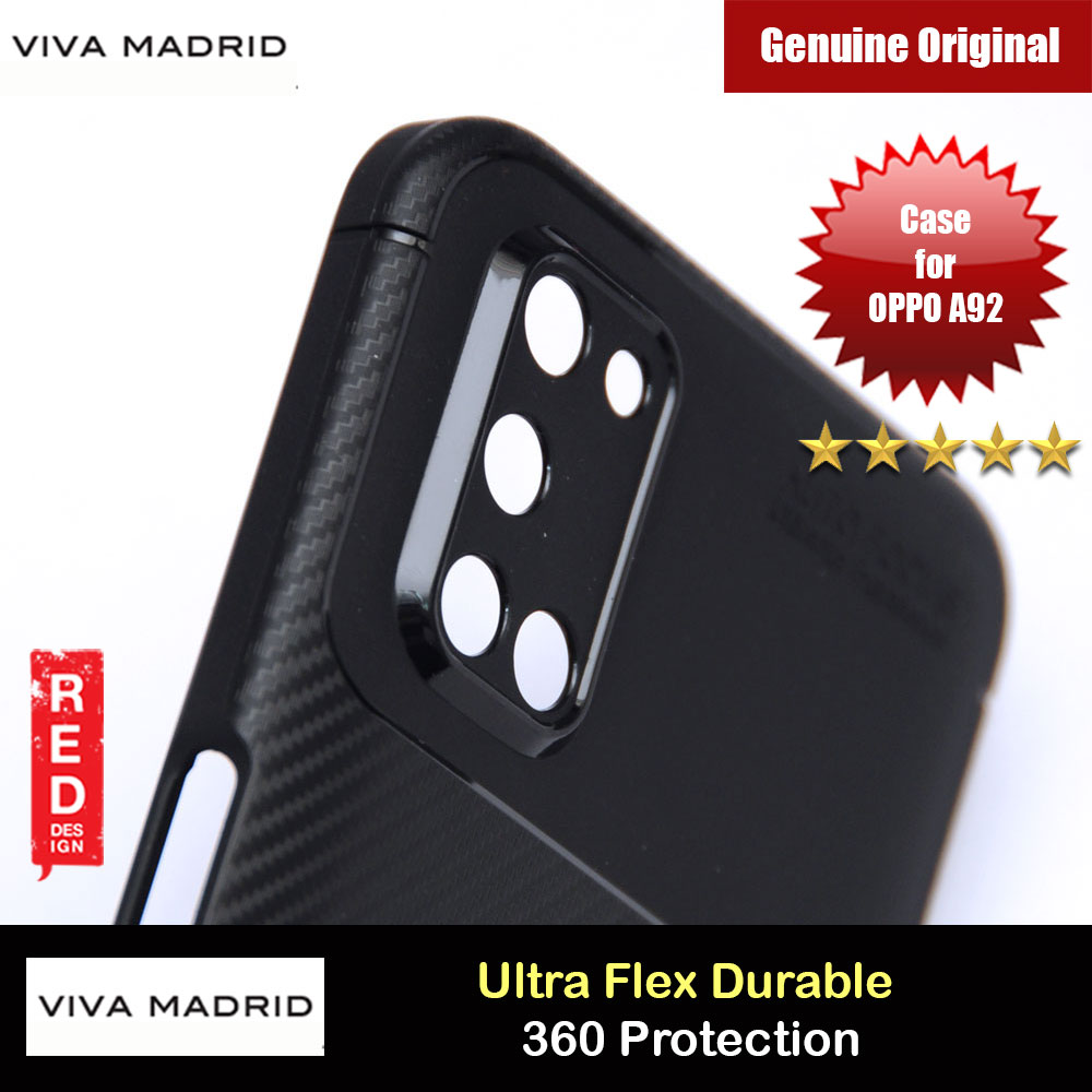 Picture of Viva Madrid Vanguard Drop ShockProof High Quality Soft Protection Case for OPPO A92 (Black) OPPO A92- OPPO A92 Cases, OPPO A92 Covers, iPad Cases and a wide selection of OPPO A92 Accessories in Malaysia, Sabah, Sarawak and Singapore