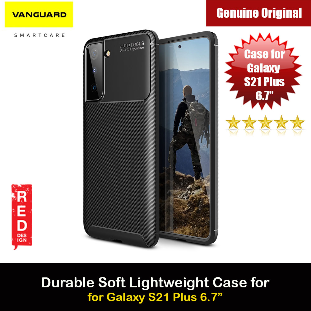 Picture of Viva Madrid Carbono Vanguard Drop Protection Case Ultra Flex TPU Bumper With Carbon Imprint High Quality Durable Case for Samsung Galaxy S21 Plus 6.7 (Black) Samsung Galaxy S21 Plus 6.7- Samsung Galaxy S21 Plus 6.7 Cases, Samsung Galaxy S21 Plus 6.7 Covers, iPad Cases and a wide selection of Samsung Galaxy S21 Plus 6.7 Accessories in Malaysia, Sabah, Sarawak and Singapore