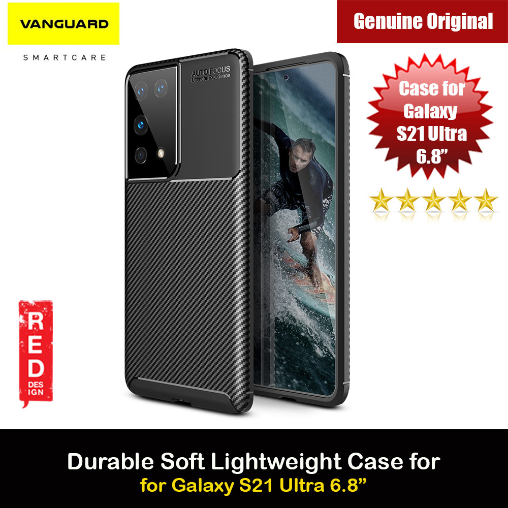 Picture of Viva Madrid Carbono Vanguard Drop Protection Case Ultra Flex TPU Bumper With Carbon Imprint High Quality Durable Case for Samsung Galaxy S21Ultra 6.8 (Black) Samsung Galaxy S21 Ultra 6.8- Samsung Galaxy S21 Ultra 6.8 Cases, Samsung Galaxy S21 Ultra 6.8 Covers, iPad Cases and a wide selection of Samsung Galaxy S21 Ultra 6.8 Accessories in Malaysia, Sabah, Sarawak and Singapore