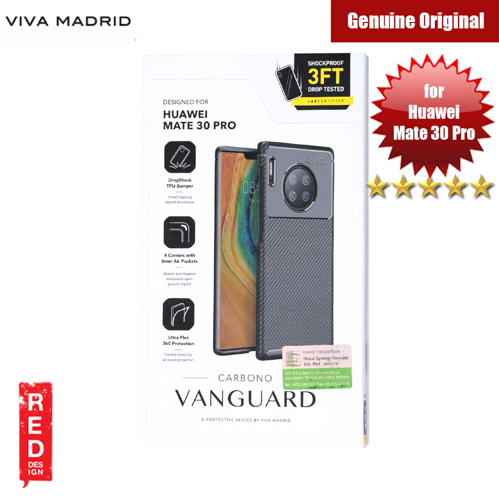 Picture of Viva Madrid Vanguard Drop ShockProof Protection Case for Huawei Mate 30 Pro (Black) Huawei Mate 30 Pro- Huawei Mate 30 Pro Cases, Huawei Mate 30 Pro Covers, iPad Cases and a wide selection of Huawei Mate 30 Pro Accessories in Malaysia, Sabah, Sarawak and Singapore