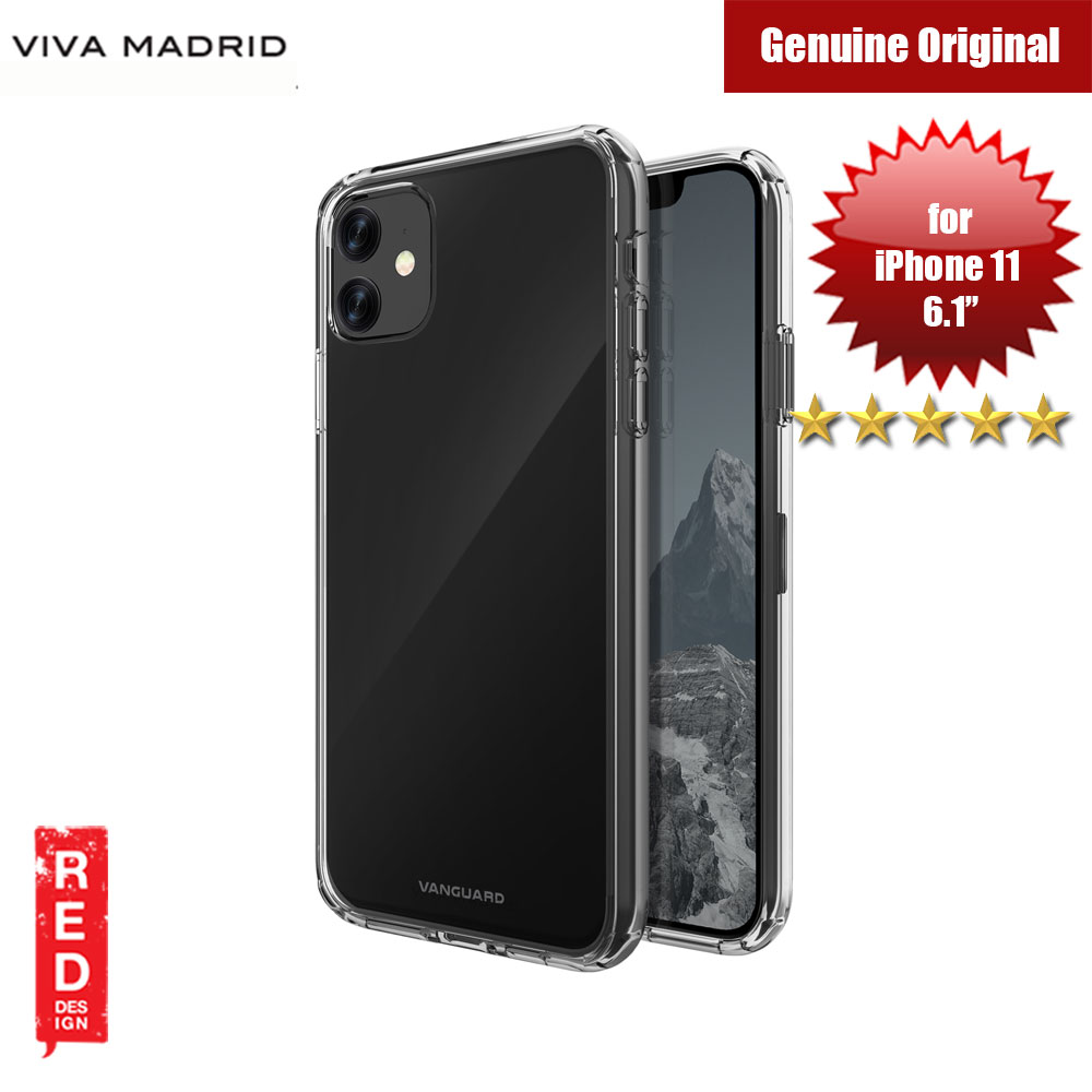 Picture of Viva Madrid Maximus Shock Drop Protection Case for Apple iPhone 11 6.1 (Clear) Apple iPhone 11 6.1- Apple iPhone 11 6.1 Cases, Apple iPhone 11 6.1 Covers, iPad Cases and a wide selection of Apple iPhone 11 6.1 Accessories in Malaysia, Sabah, Sarawak and Singapore