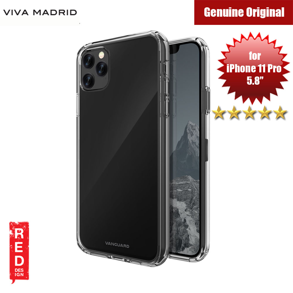 Picture of Viva Madrid Maximus Shock Drop Protection Case for Apple iPhone 11 Pro 5.8 (Clear) Apple iPhone 11 Pro 5.8- Apple iPhone 11 Pro 5.8 Cases, Apple iPhone 11 Pro 5.8 Covers, iPad Cases and a wide selection of Apple iPhone 11 Pro 5.8 Accessories in Malaysia, Sabah, Sarawak and Singapore