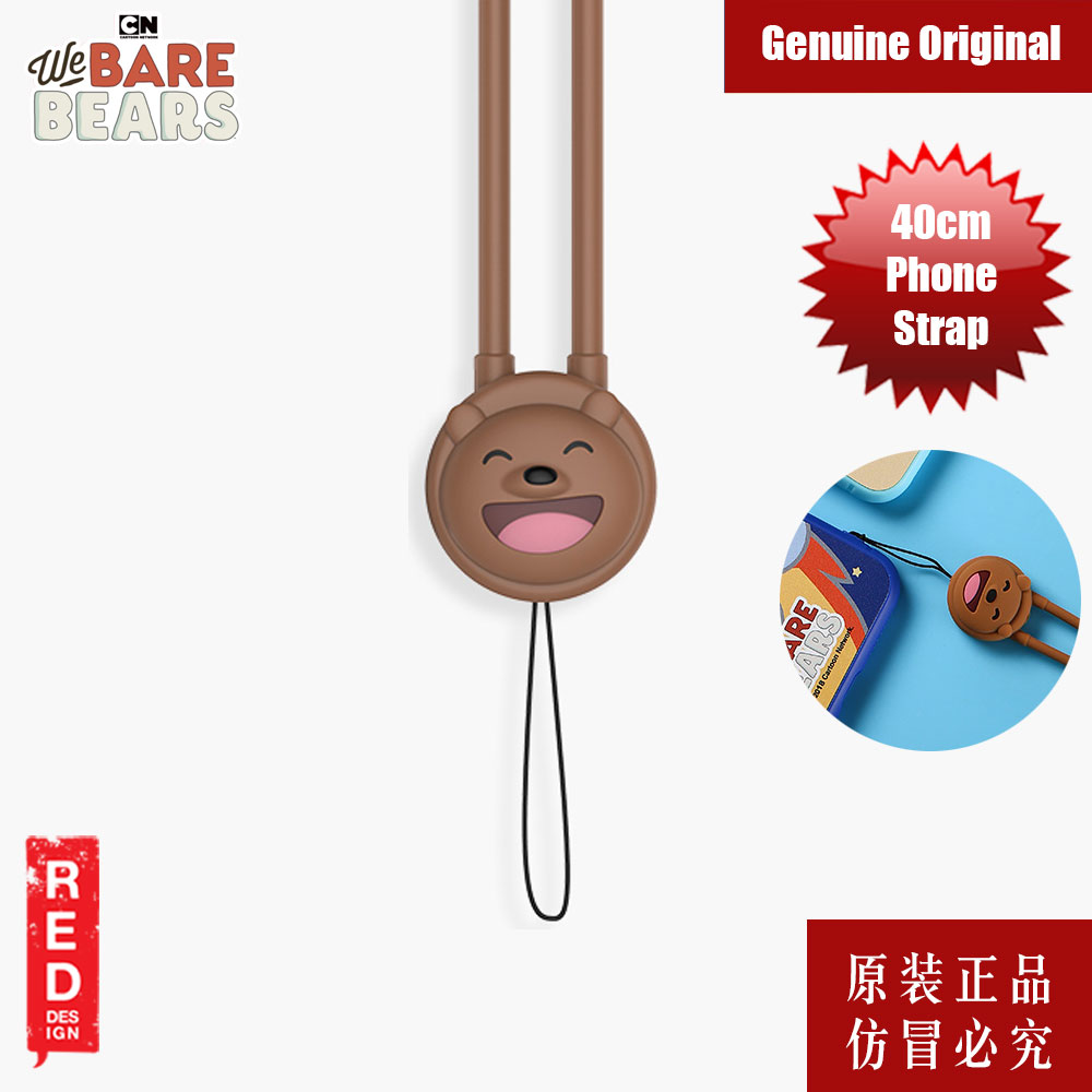 Picture of We Bare Bears Fashion Mobile Phone Strap (Grizz Bear) Red Design- Red Design Cases, Red Design Covers, iPad Cases and a wide selection of Red Design Accessories in Malaysia, Sabah, Sarawak and Singapore