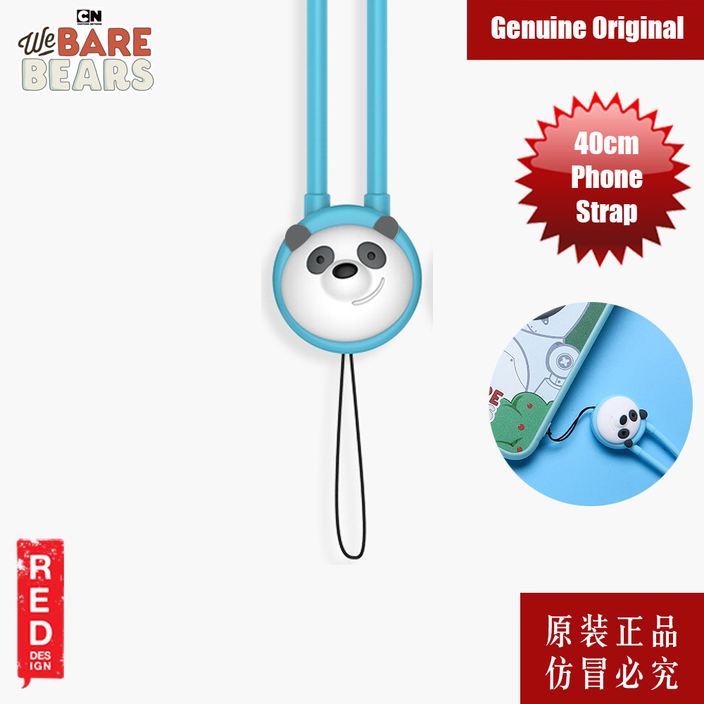 Picture of We Bare Bears Fashion Mobile Phone Strap (Panda) Red Design- Red Design Cases, Red Design Covers, iPad Cases and a wide selection of Red Design Accessories in Malaysia, Sabah, Sarawak and Singapore