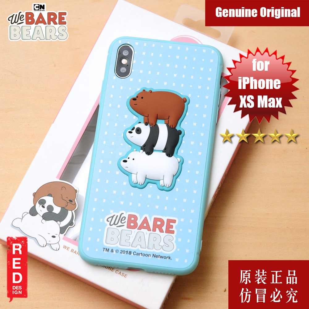 Picture of We Bare Bears Fashion Case for Apple iPhone XS Max (Blue) Apple iPhone XS Max- Apple iPhone XS Max Cases, Apple iPhone XS Max Covers, iPad Cases and a wide selection of Apple iPhone XS Max Accessories in Malaysia, Sabah, Sarawak and Singapore