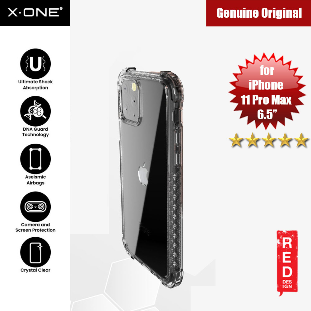 Picture of X-One X.One DropGuard Pro for Apple iPhone 11 Pro Max 6.5 (Tint Black) Apple iPhone 11 Pro Max 6.5- Apple iPhone 11 Pro Max 6.5 Cases, Apple iPhone 11 Pro Max 6.5 Covers, iPad Cases and a wide selection of Apple iPhone 11 Pro Max 6.5 Accessories in Malaysia, Sabah, Sarawak and Singapore