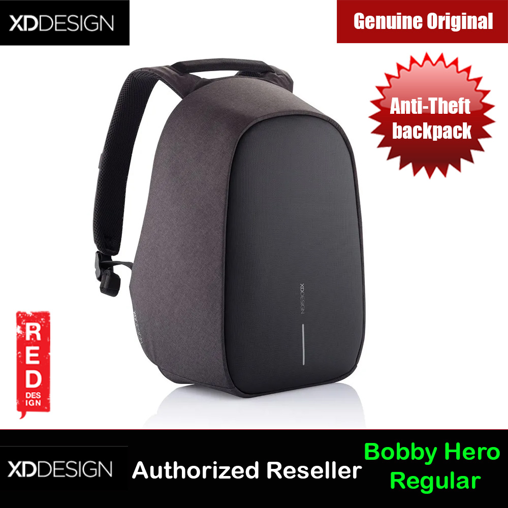 Picture of XD Design Bobby Hero Regular Anti-Theft backpack (Black) Red Design- Red Design Cases, Red Design Covers, iPad Cases and a wide selection of Red Design Accessories in Malaysia, Sabah, Sarawak and Singapore