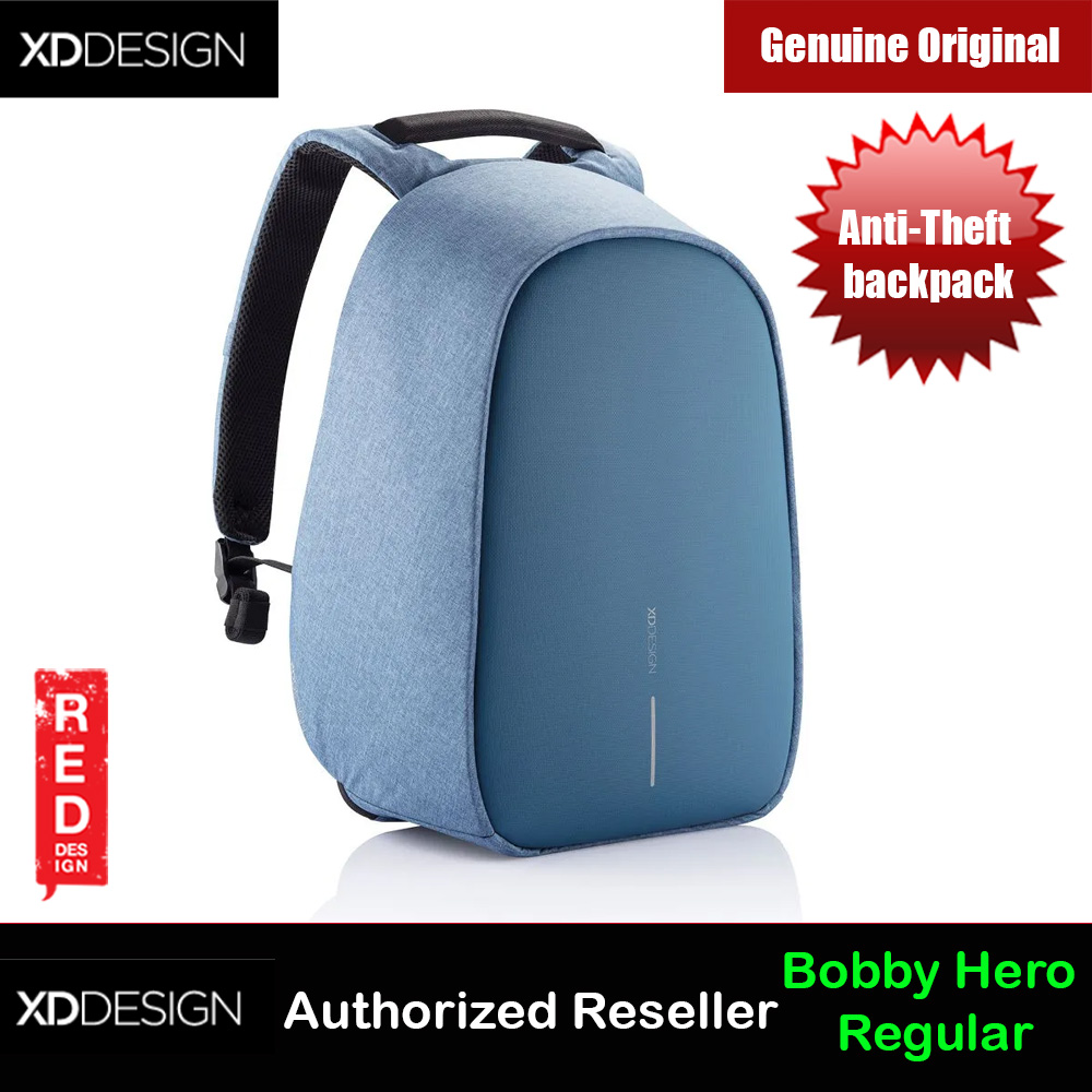 Picture of XD Design Bobby Hero Regular Anti-Theft backpack (Blue) Red Design- Red Design Cases, Red Design Covers, iPad Cases and a wide selection of Red Design Accessories in Malaysia, Sabah, Sarawak and Singapore