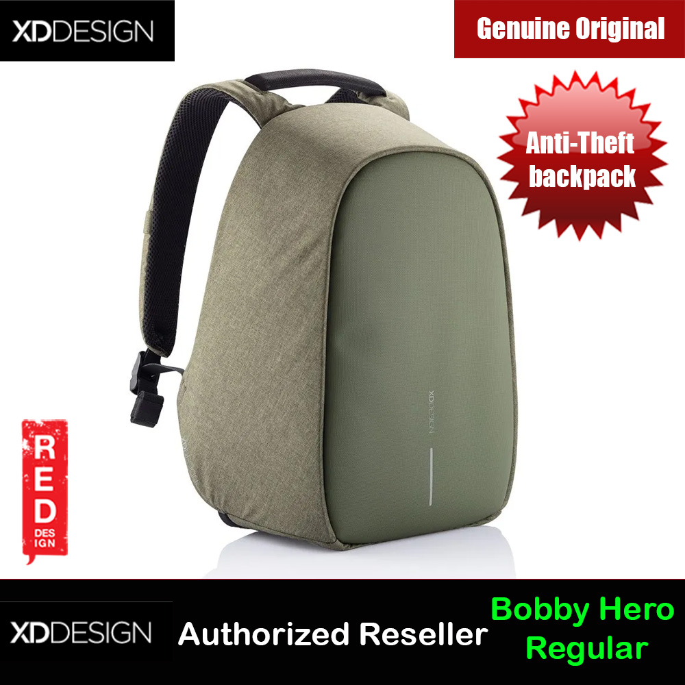 Picture of XD Design Bobby Hero Regular Anti-Theft backpack (Green) Red Design- Red Design Cases, Red Design Covers, iPad Cases and a wide selection of Red Design Accessories in Malaysia, Sabah, Sarawak and Singapore