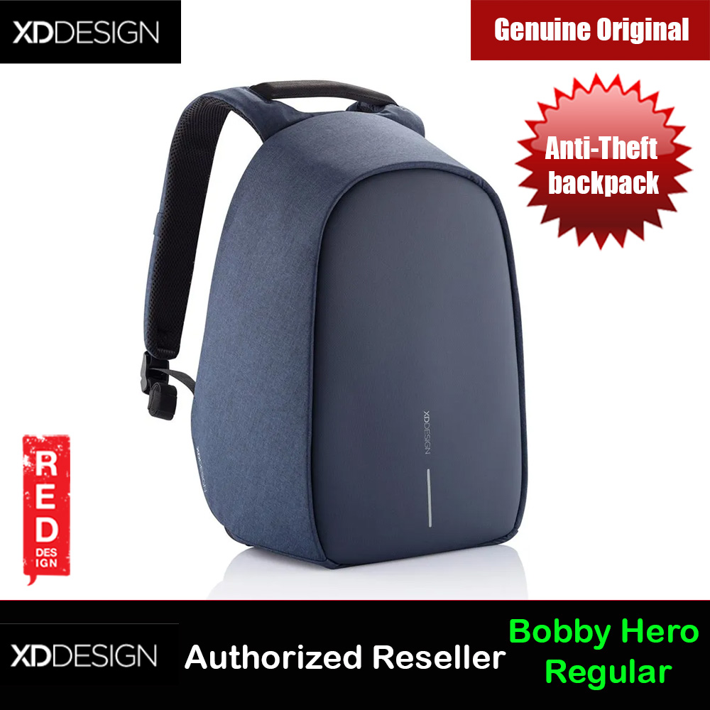 Picture of XD Design Bobby Hero Regular Anti-Theft backpack (Navy) Red Design- Red Design Cases, Red Design Covers, iPad Cases and a wide selection of Red Design Accessories in Malaysia, Sabah, Sarawak and Singapore