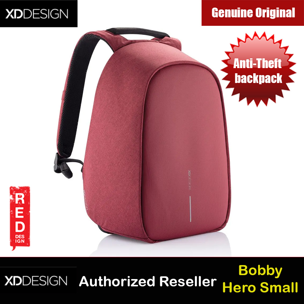 Picture of XD Design Bobby Hero Small Anti-Theft backpack (Cherry Red) Red Design- Red Design Cases, Red Design Covers, iPad Cases and a wide selection of Red Design Accessories in Malaysia, Sabah, Sarawak and Singapore